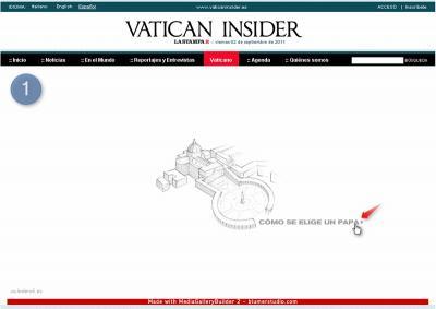 Animación: Cómo se elige un Papa