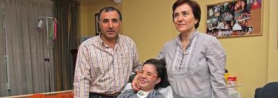 Laura 'despierta' tras cuarenta semanas en coma (fuente: elcorreo.com)